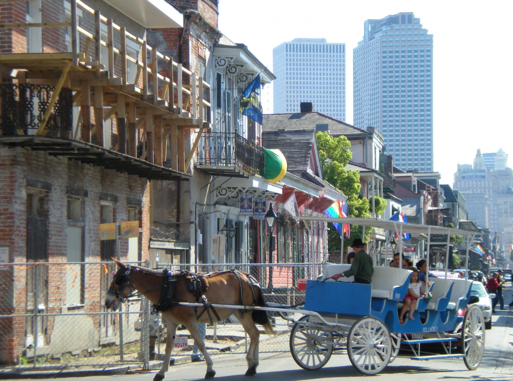 New Orleans is an especially nice place to travel in the spring due to all of its festivals